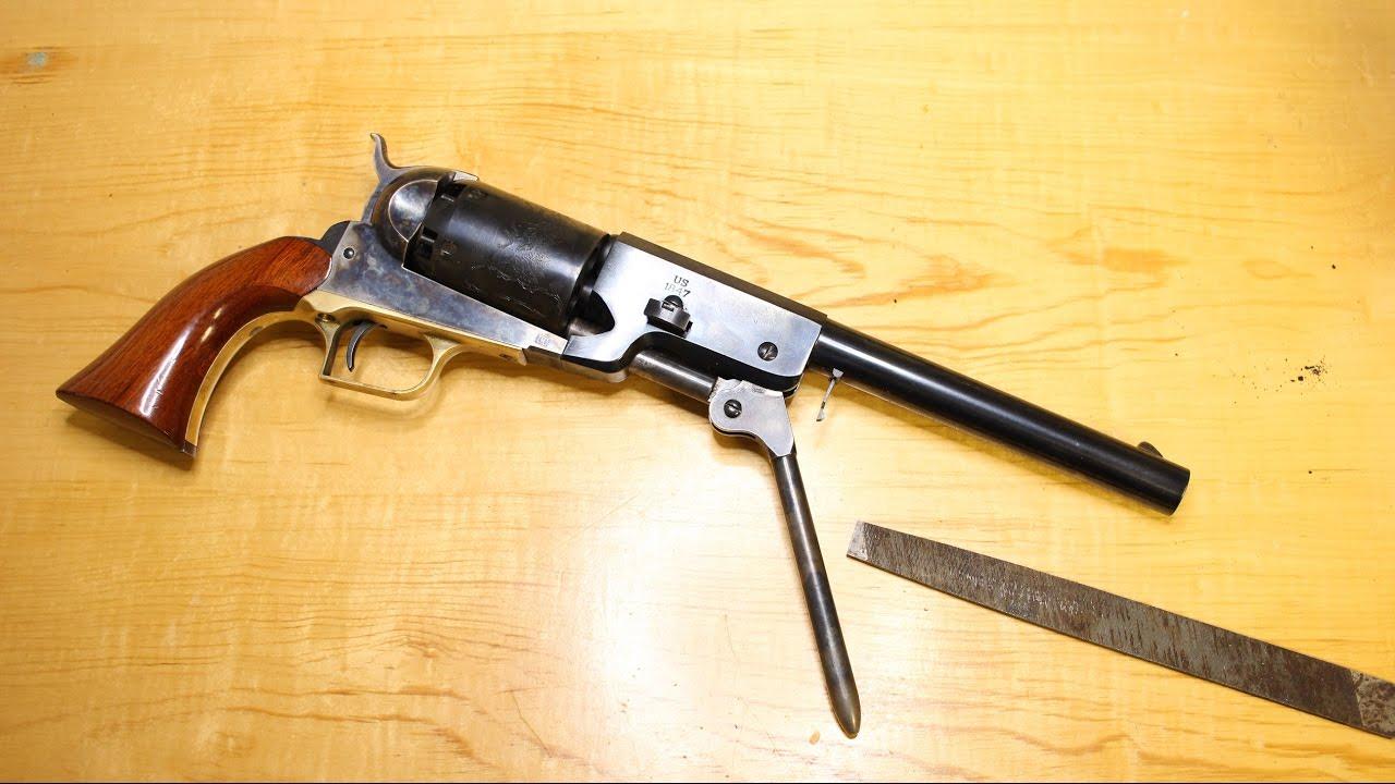 DIY Gunsmithing: Fixing the Walker Loading Lever