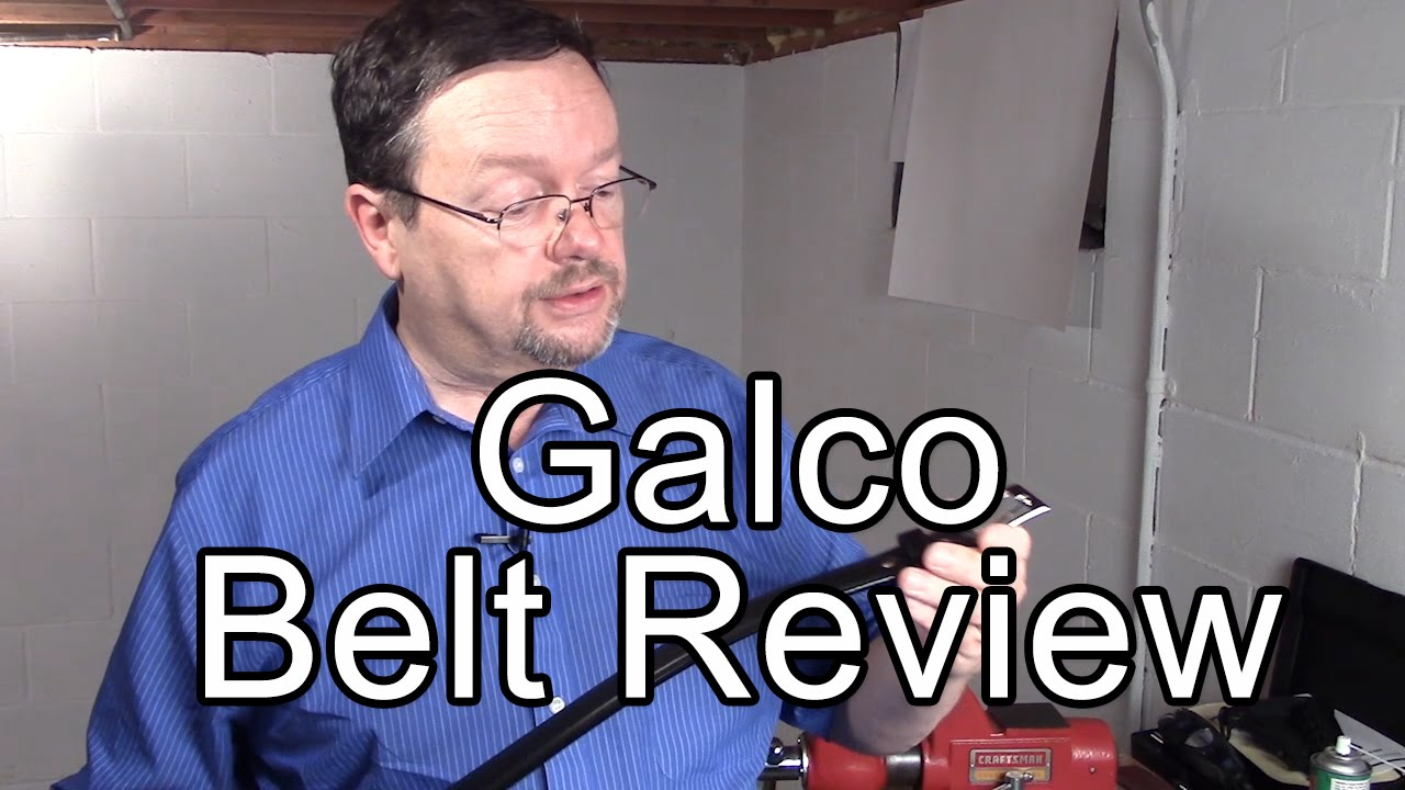 Galco Belt Review