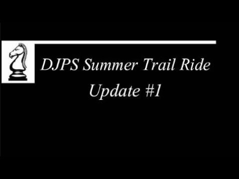 Dr. John Paladin Show -Trail Ride Update #1