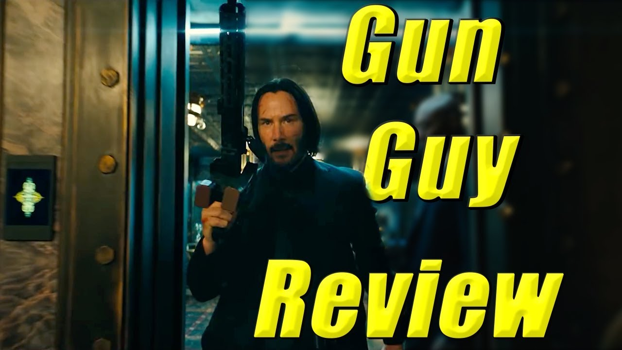 John Wick Chapter 3 Parabellum Gun Guy Movie Review (No Spoilers)