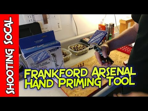 Frankford Arsenal Hand Primer $59 - Un-boxing and Review