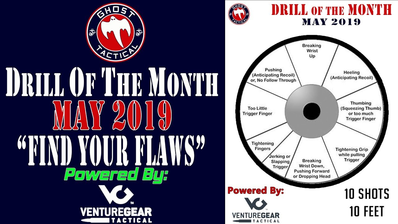Ghost Tactical Drill of the Month:  May 2019:  Find Your Flaw