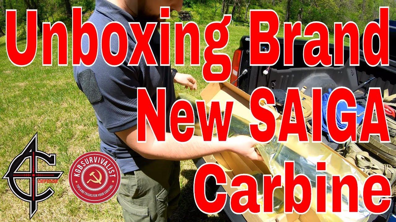 Saiga Carbine by Izhmash Unboxing