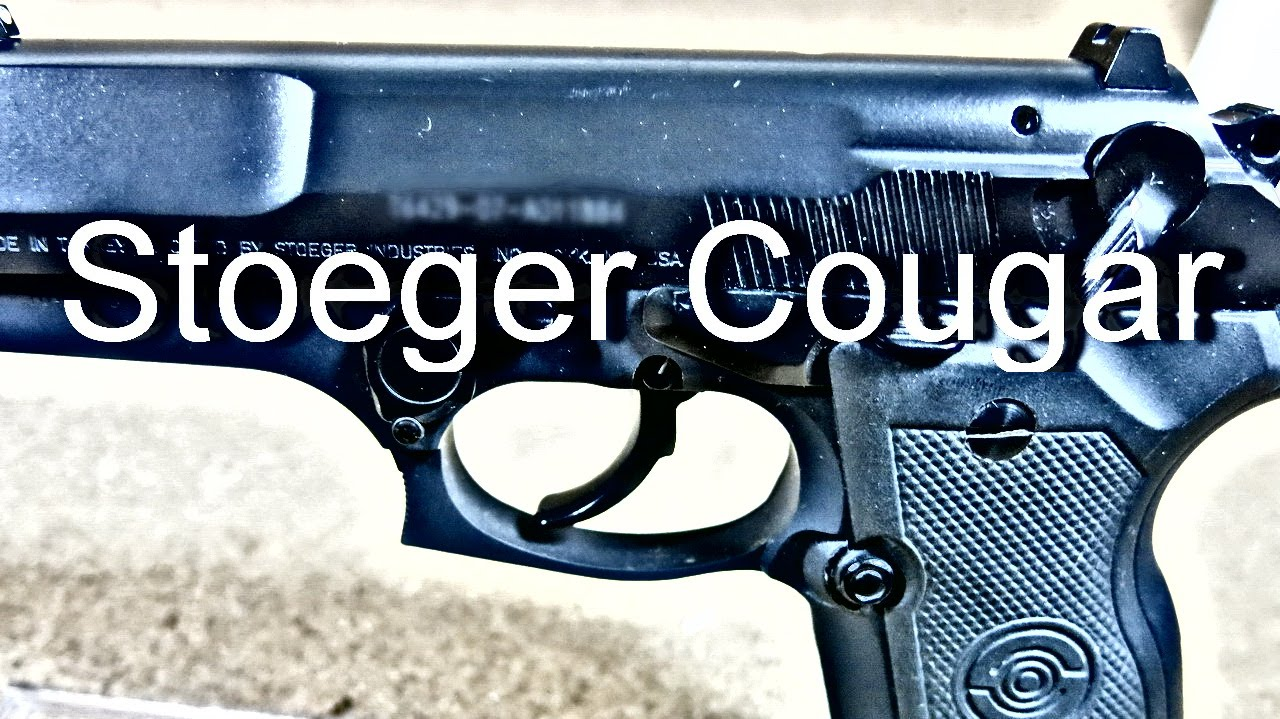 Турецкий клон Беретты 8000Ф - Stoeger Cougar