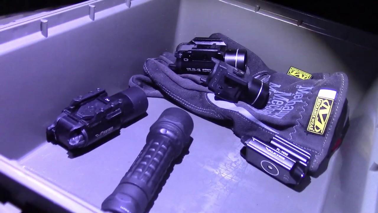Пистолетные фонари, часть 2