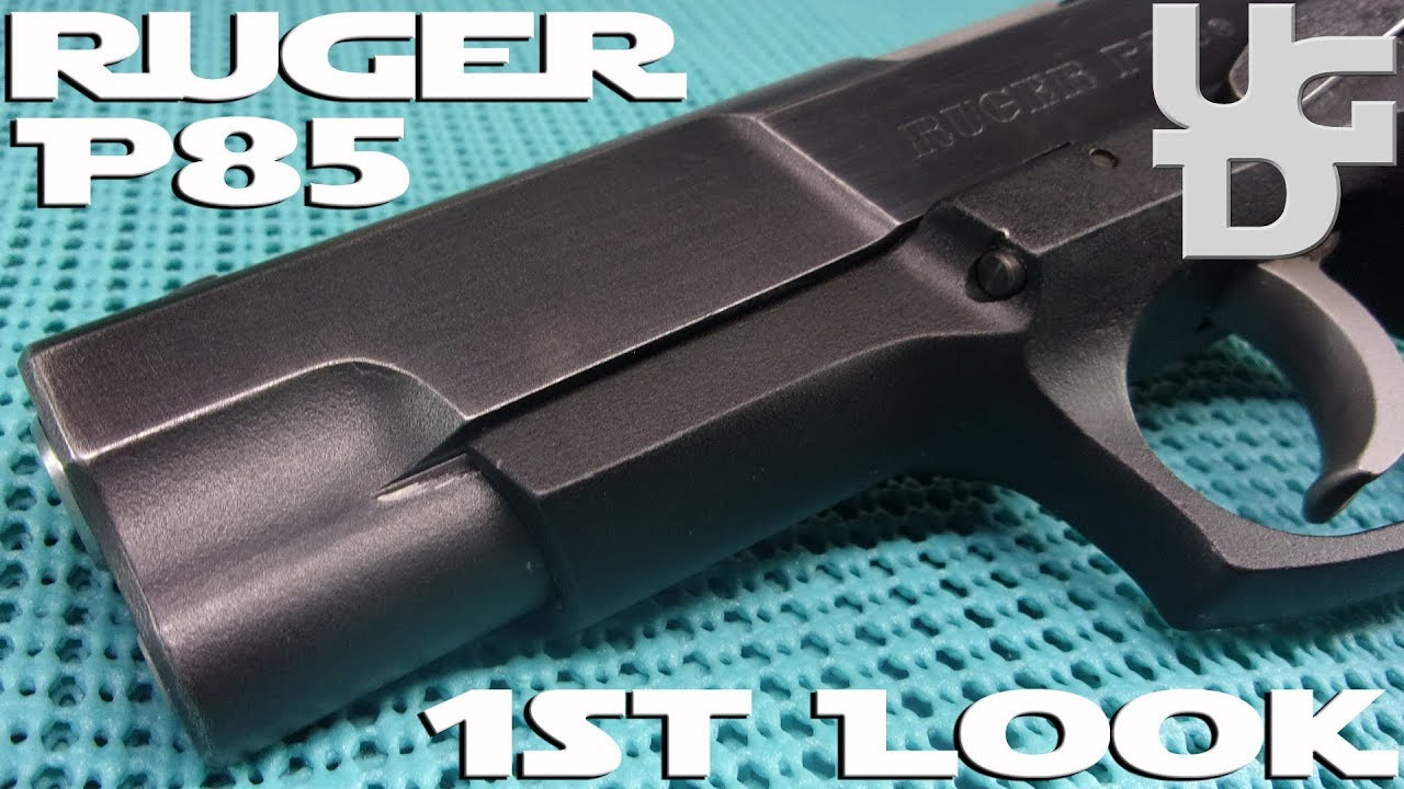 Ruger P85 9mm 1st Look Review, Loving My New to Me Ruger P-85