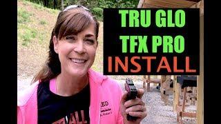 ARMED and Feminine TRUE GLO TFX PRO Install