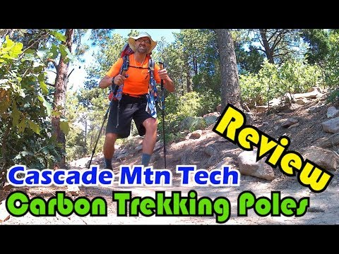 Budget Backpacking: Cascade Mountain Tech Carbon Fiber Trekking Poles Review