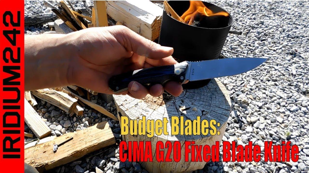 Budget Blades: CIMA G20 Fixed Blade Knife