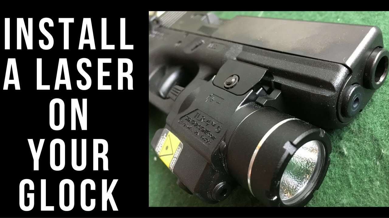 Installing and sighting in a Streamlight TLR-4G laser on a Glock