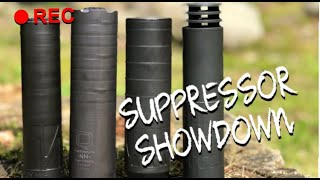 Dead Air Nomad, Q Trash Panda, Silencerco Omega & Energetic Vox comparison