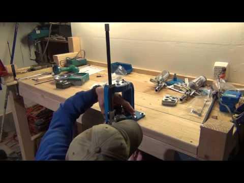 Mounting the Dillon RL550B - Part 2