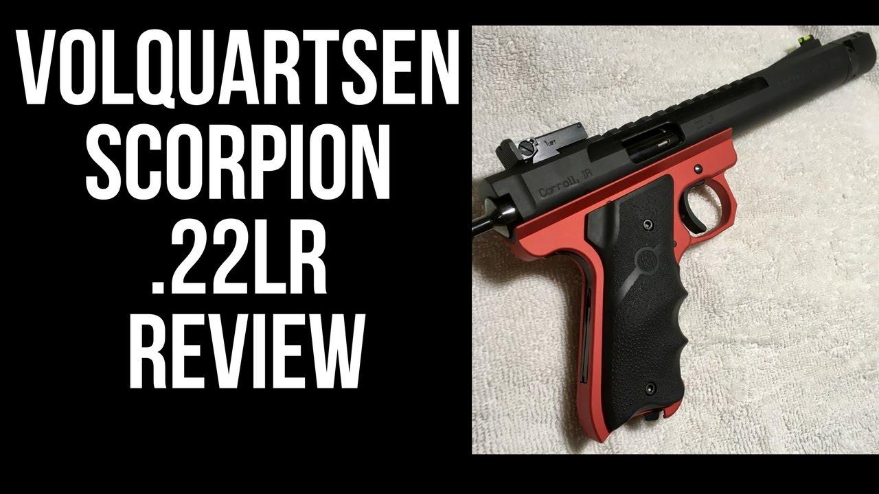 Volquartsen Scorpion review. Accurate .22lr pistol