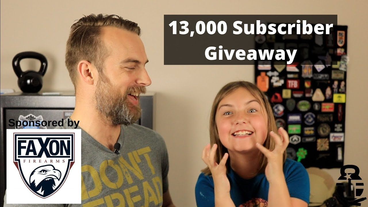 13,000 Subscriber Giveaway
