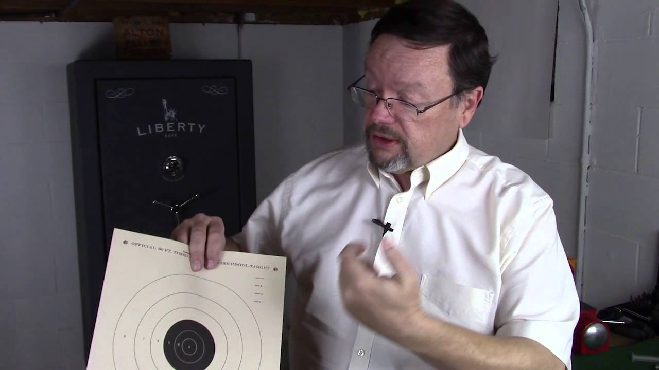 Improving accuracy with a handgun or pistol