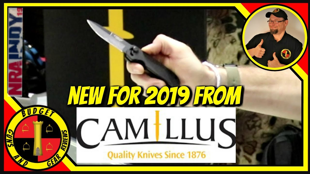 Camillus Knives Review- What's New For 2019!
