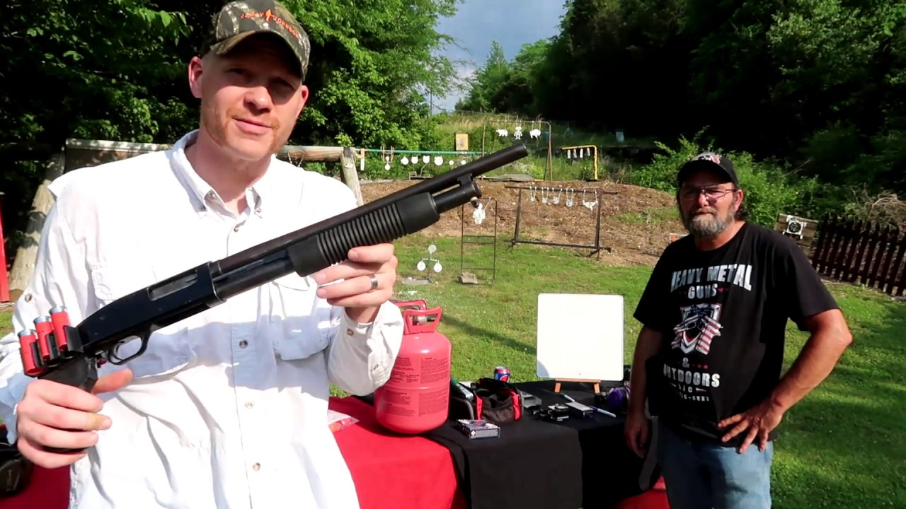 Shotguns and Balloons with Heavy Metal