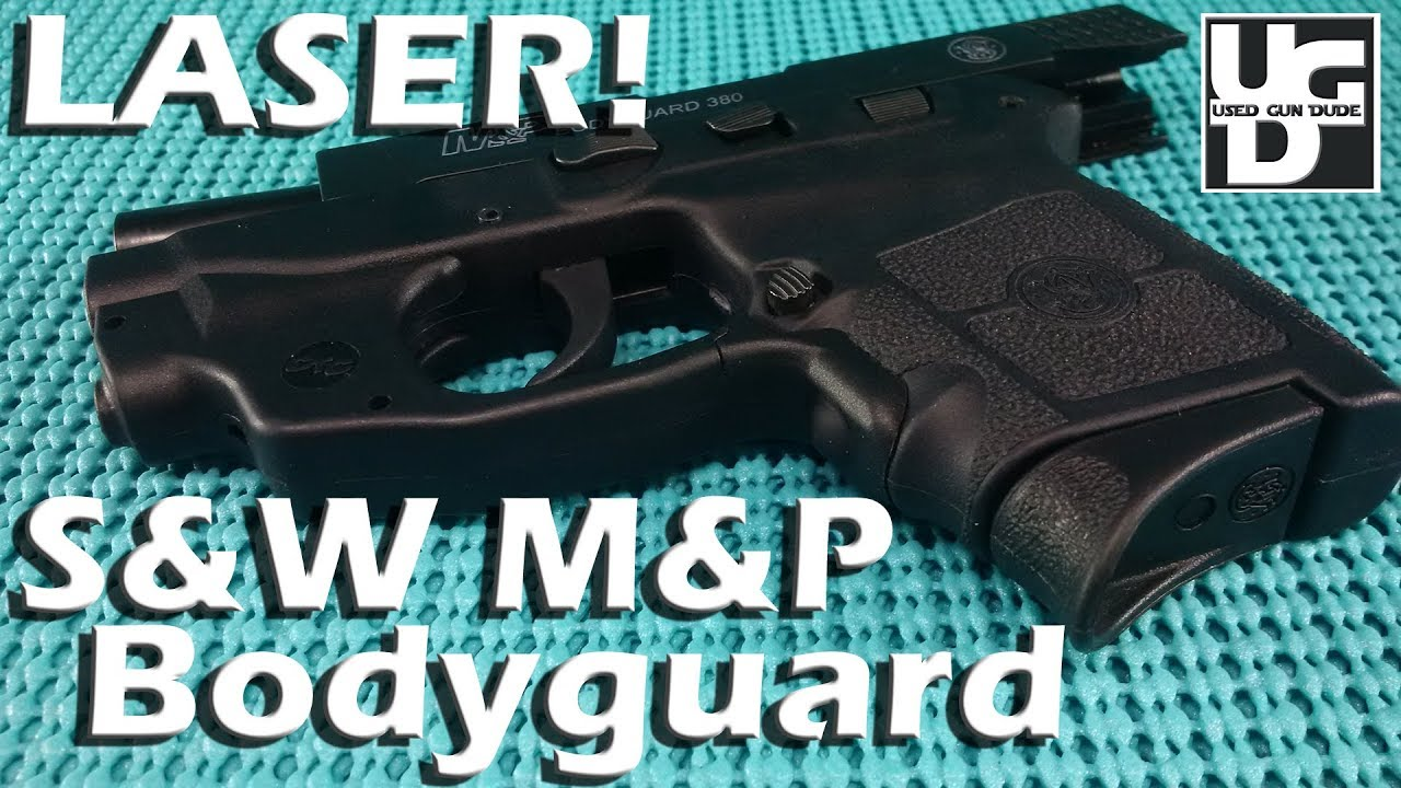 Smith and Wesson M&P Bodyguard 380 Crimson Trace GREEN Laser Range Review