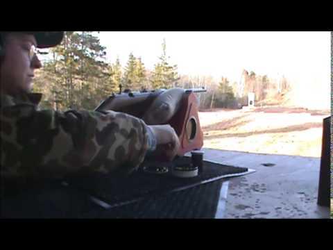 Husqvarna M255 & Marbles Bullseye Sight Test