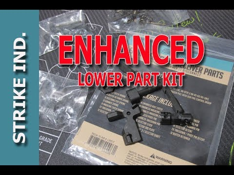AR15 Enhanced Lower Parts Kit by Strike IND.