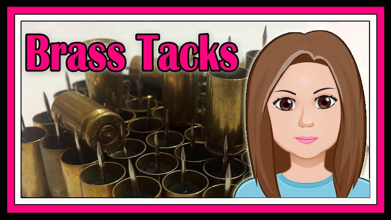 9mm Brass Tacks DIY