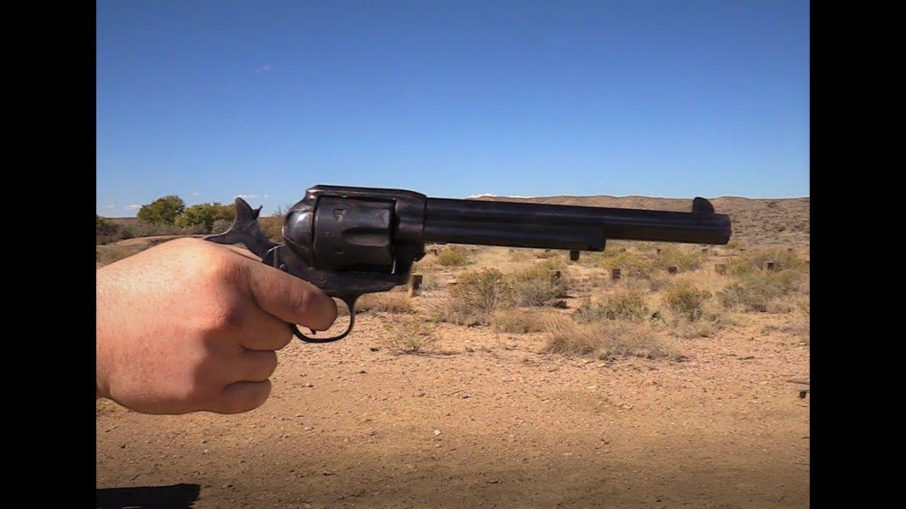 Cimarron 1873 SAA Pistolero  45 Colt nickel