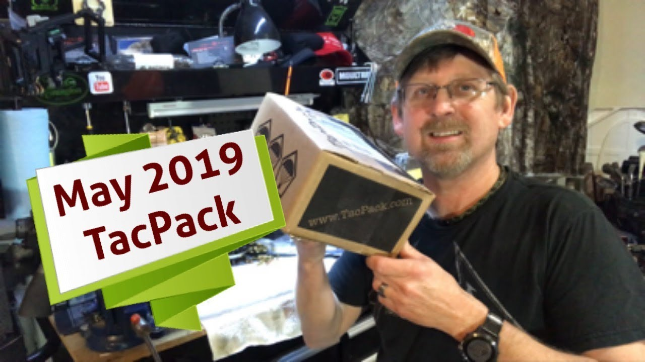 TacPack May 2019 unboxing