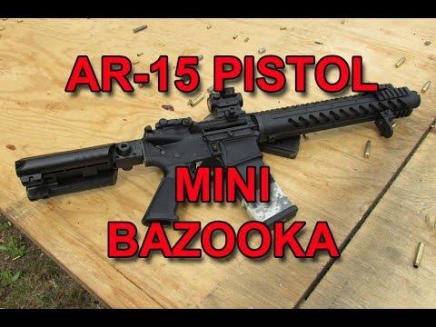 Mini Bazooka - AR15 Pistol