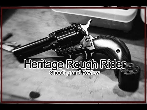 Shooting the Heritage Rough Rider 3