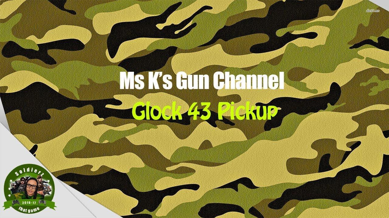 Glock 43 Pickup