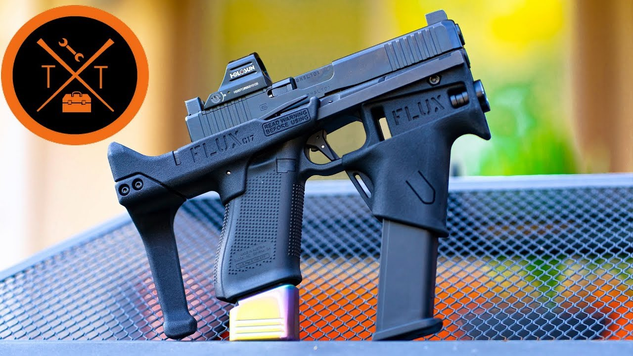 NEW Glock Conversion Brace 2019 // I wouldn't buy it....😕 (w/Links & Codes)