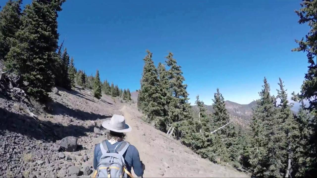 Hiking Humphreys Peak with a friend