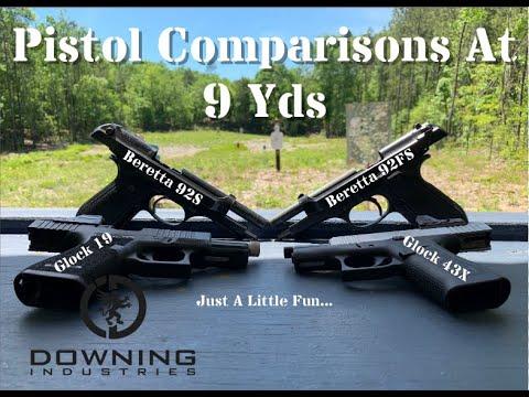 Baseline Pistol Accuracy At 9 Yds...