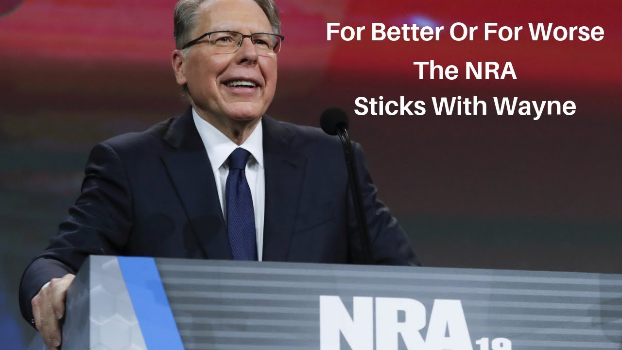 For Better Or For Worse, The NRA Sticks With Wayne