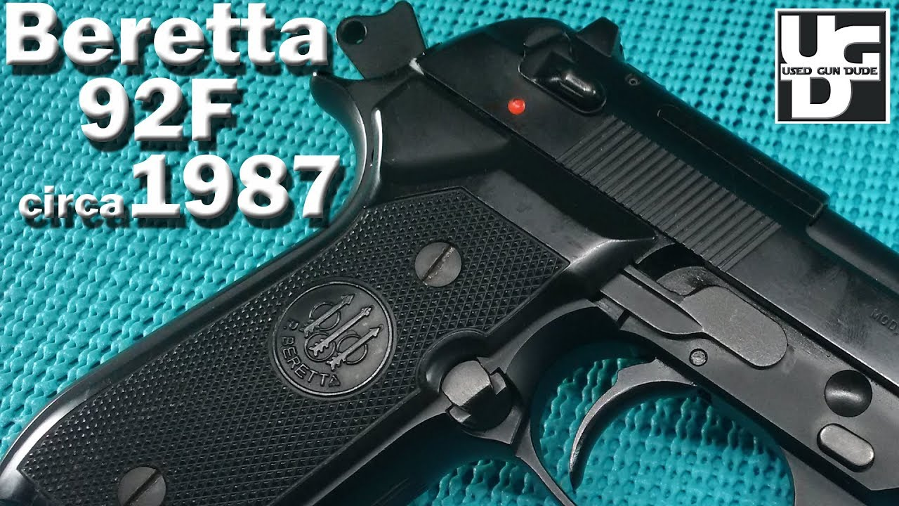 Beretta 92F circa 1987 Range Review, I am RIGGS
