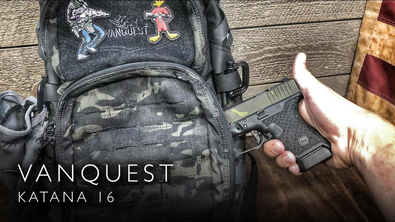 Off Body Carry - Vanquest Katana 16