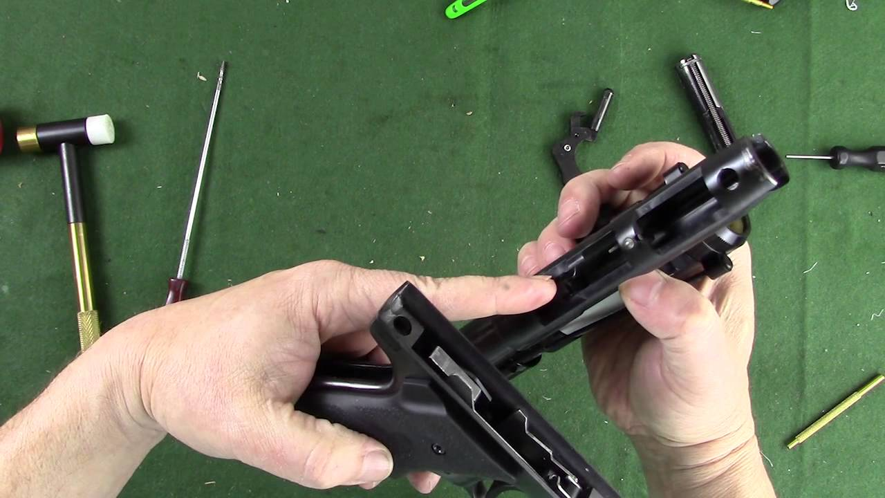 Ruger MKIII disassembly and reassembly