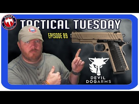 Devil Dog Arms Joins Us!  Tactical Tuesday LIVE ep 89