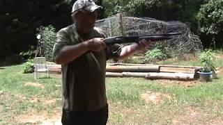 Mossberg 500 Bedside Shotgun project test fire