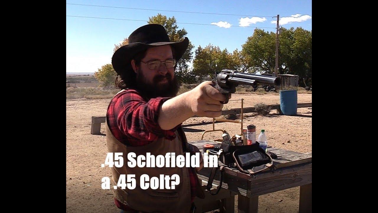 .45 Schofield in a .45 Colt?
