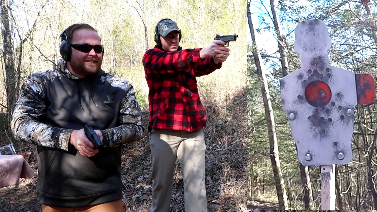 Shooting A Reactive Target With WhoTeeWho! Range Day With a Friend!
