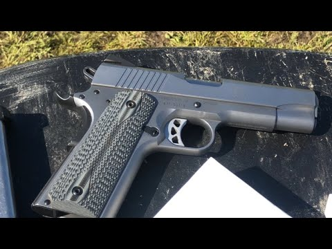 Shooting the Ruger SR1911 CMD. The best 1911 in the 700$ Price Range??