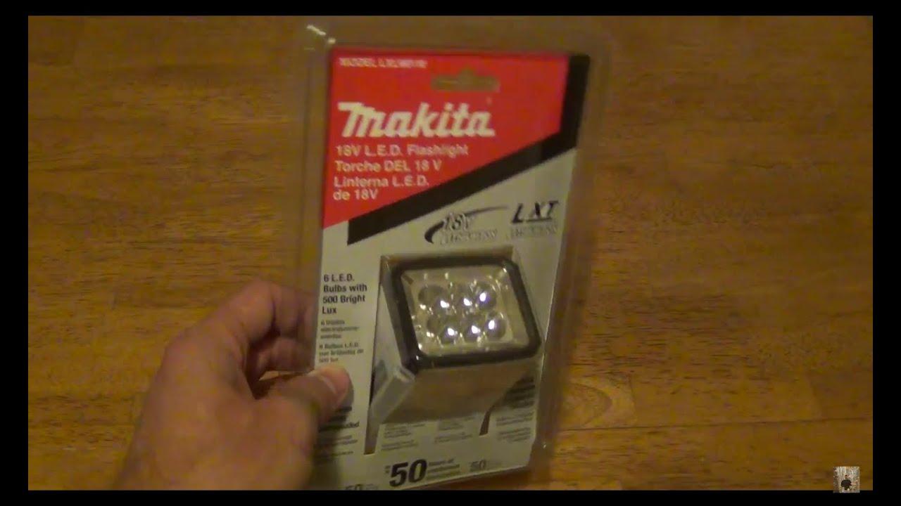 Makita LXLM01 flashlight - HD