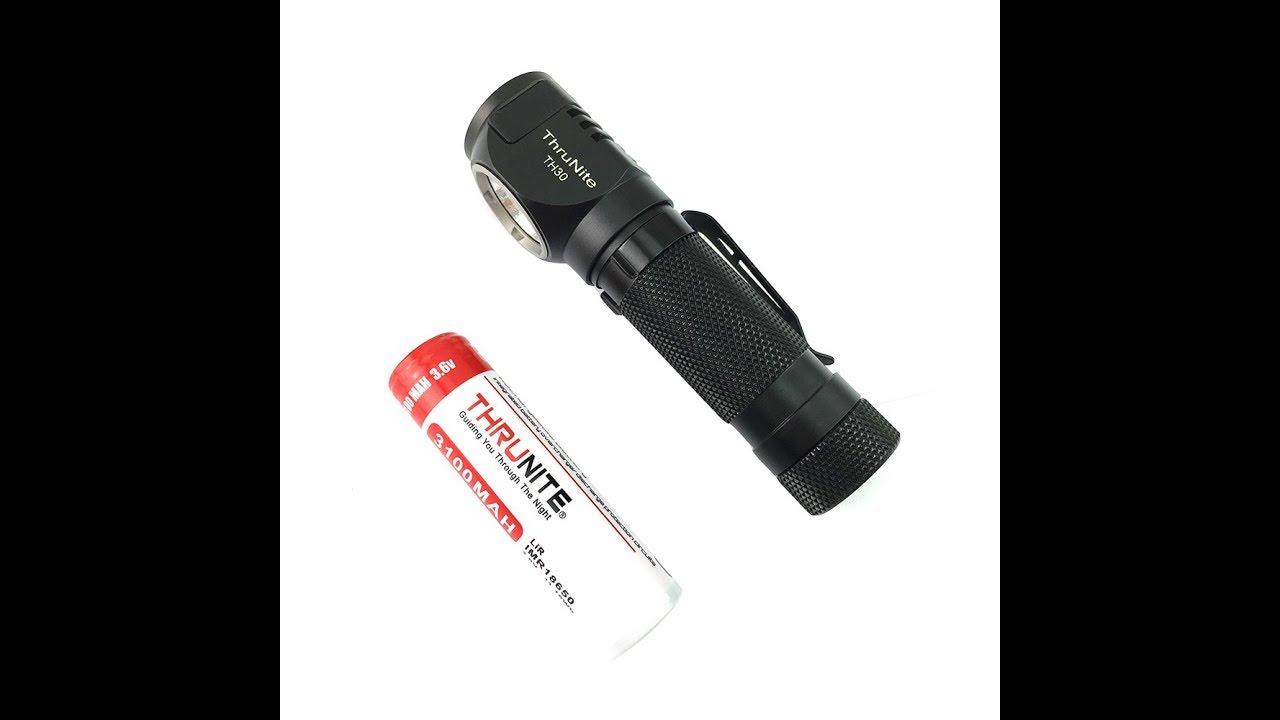 ThruNite TH30 Super Bright - 3350 lumens! Rechargeable Headlamp