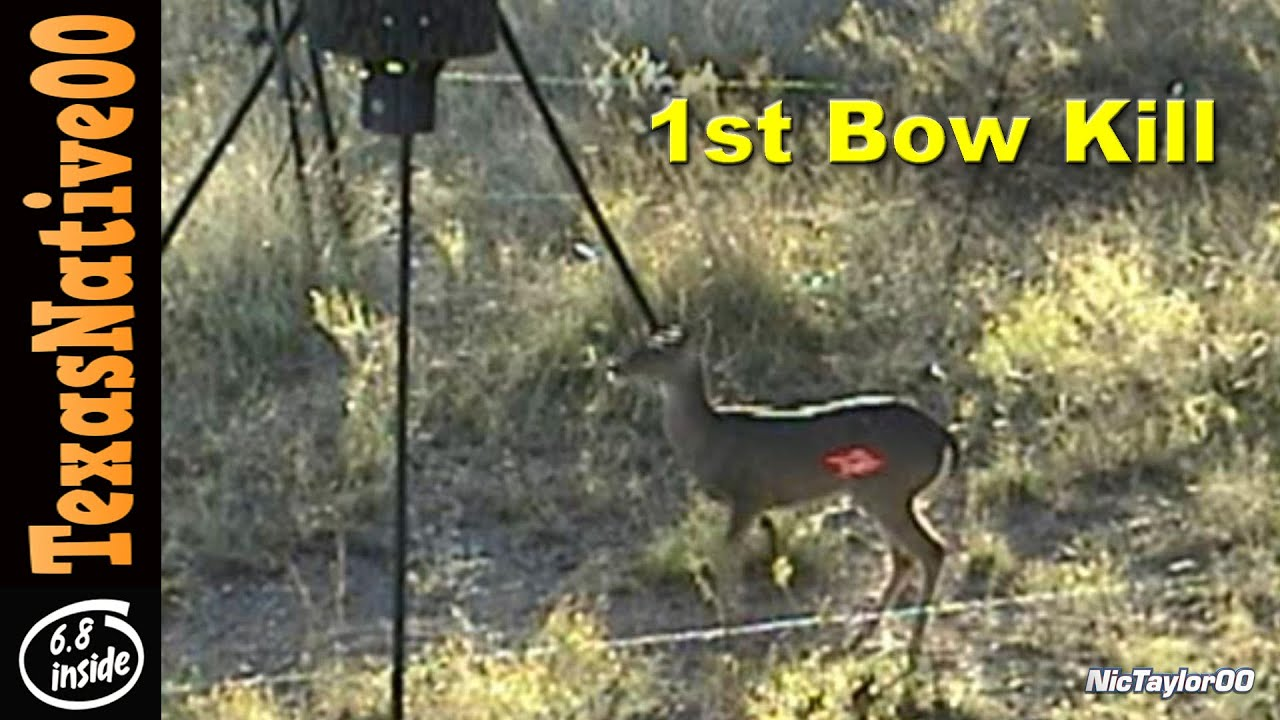 First Deer Killed with a Compound Bow