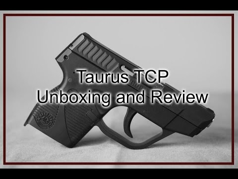 Unboxing and Review of the Taurus TCP PT738