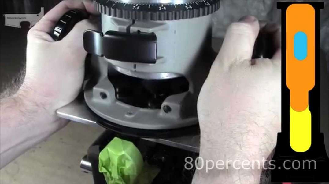 80% Lower AR15 How to Complete Machining Easy Jig Drill Press Router.