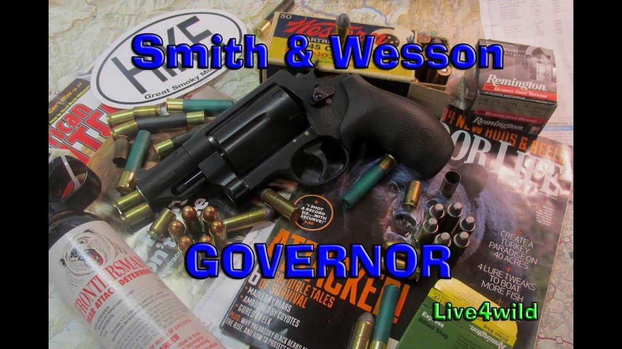 S&W Governor .45 Long Colt .45 ACP .410