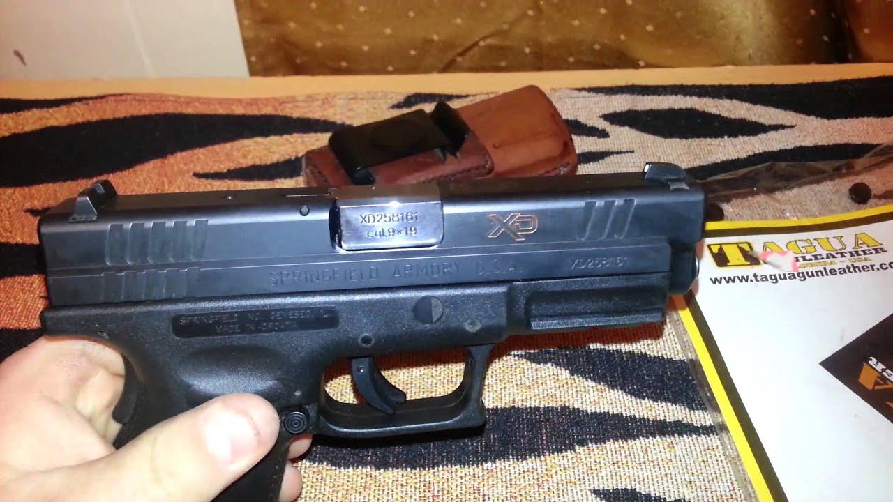 Tagua gun leather/ xd9