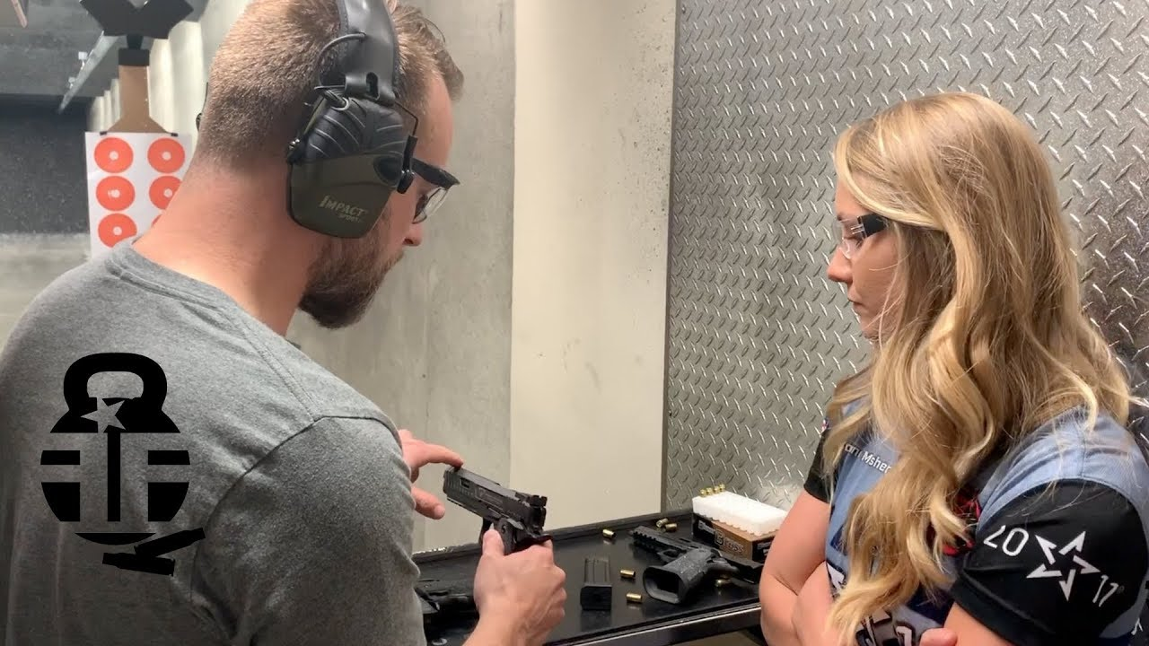 Shooting the John Wick 3 Taran Tactical Combat Master w/ Corinne Mosher
